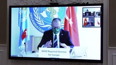 politika - ANKARA - Sağlık Bakanı Koca, DSÖ Avrupa Direktörü Kluge ile video konferansla görüştü