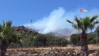 kayali -  Bodrum'da yükselen dumanlar korkuttu