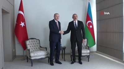 resmi toren -  - Cumhurbaşkanı Erdoğan, Aliyev ile bir araya geldi