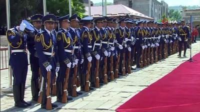 resmi toren -  - Cumhurbaşkanı Erdoğan, Şuşa'da resmi törenle karşılandı