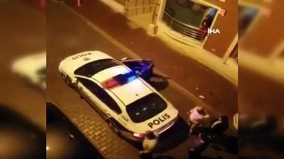 dogum gunu -  Engelli gencin hayalini doğum gününde polis ekipleri gerçekleştirdi