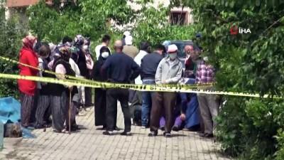 cenaze araci -  Evinin önünde silahlı saldırıya uğradı, mahalleli kanlar içinde buldu
