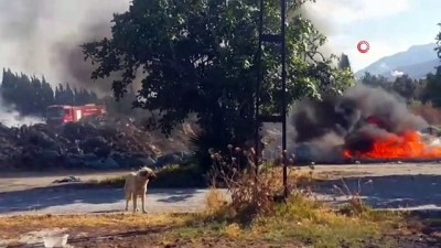 yasli adam -  Hurda koltuğun tellerini çıkarırken yangına sebep oldu