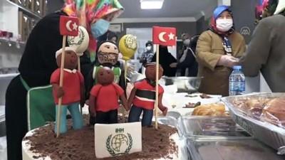 KAHRAMANMARAŞ - Kahramanmaraş'ta Gazze'deki Müslümanlar yararına kermes düzenlendi