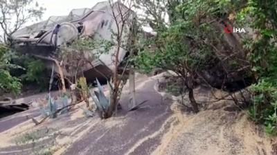 yasli adam -  - Meksika'da raydan çıkan tren 4 eve zarar verdi: 1 ölü, 3 yaralı
