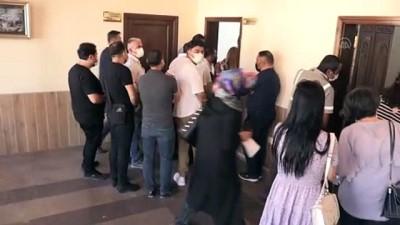 yan etki - NEVŞEHİR - Mobil sağlık ekipleri belediye çalışanlarına Kovid-19 aşısı yaptı Videosu