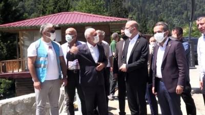 hassasiyet - RİZE - AK Parti Genel Başkan Yardımcısı Ömer İleri, Ayder Yaylası'ndaki çalışmaları değerlendirdi