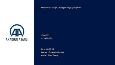 makam araci - ŞUŞA - Erdoğan-Aliyev görüşmesi