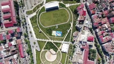 kiraathane -  Türkiye'nin ilk spor temalı millet bahçesi açılıyor