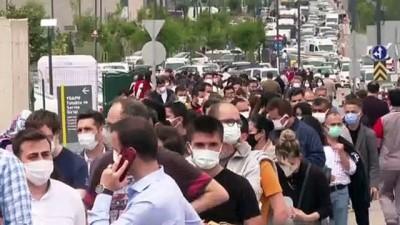 20 dakika - ANKARA - Başkentte aşı merkezlerinde yoğunluk yaşanıyor (2)
