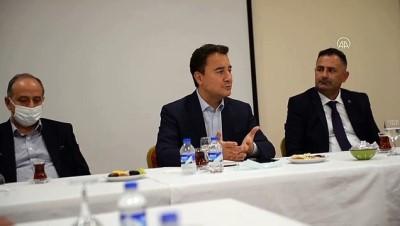 ayetler - ARDAHAN - DEVA Partisi Genel Başkanı Babacan, Ardahan'da basın mensuplarıyla bir araya geldi