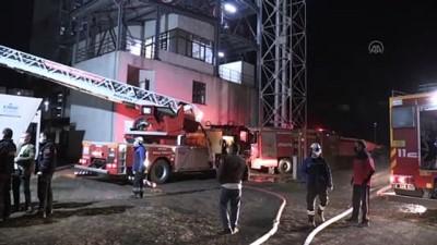 BOLU - Bioenerji fabrikasında çıkan yangın söndürüldü