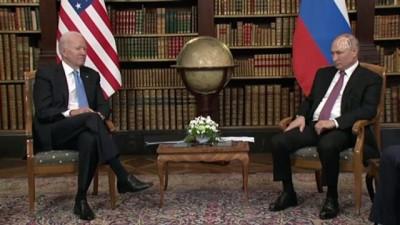isvicre - CENEVRE - ABD Başkanı Biden ile Rusya Devlet Başkanı Putin arasındaki zirve Cenevre'de başladı