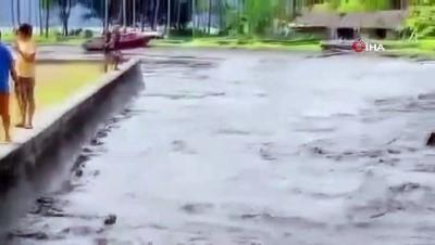 - Endonezya'da 6.1 büyüklüğünde deprem