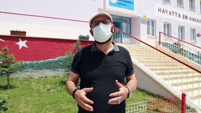 okul binasi - ERZURUM - Aileler salgını fırsata çevirip çocuklarının eğitim yuvasını yeniledi