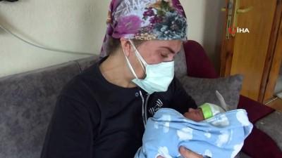 yasam mucadelesi -  Hamileyken korona oldu, bebeğine 1 ay sonra sevinç gözyaşlarıyla sarıldı