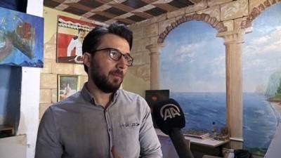 ogretmenlik - KİLİS - Suriyeli ressamdan tuz tanelerine estetik dokunuş