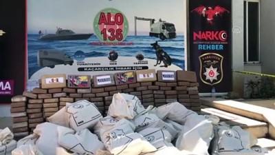 kokain - MERSİN - Mersin Limanı'nda 1 ton kokain ele geçirildi (5)