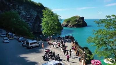 korkuluk - ORDU - 'Sakin şehir' Perşembe'deki Hoynat Adası cazibe merkezi haline geldi