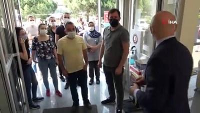 ocaklar -  Samsun'da sanayi çalışanları aşılanıyor