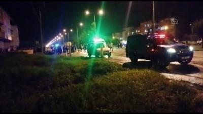 cenaze araci - SAMSUN - Otomobilin çarptığı bisiklet sürücüsü yaşamını yitirdi