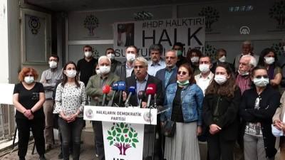siyasi partiler - ANKARA - HDP Eş Genel Başkanı Sancar'dan İzmir İl Başkanlığına yönelik saldırıya ilişkin açıklama