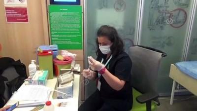 yazili aciklama - Bursa OSB'de çalışan 57 bin 860 kişi aşı oldu