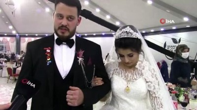 kapali alan -  Düğün salonlarında yemek dönemi yeniden başladı, çiftler sevinçle karşıladı