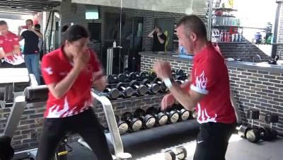 sampiyon - Dünya şampiyonu boksör Busenez, Tokyo Olimpiyatları'na Ordu'da hazırlanıyor