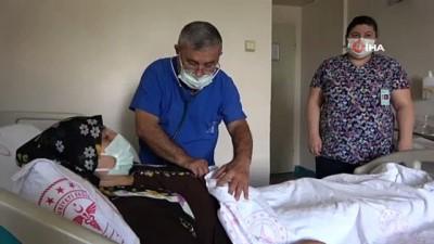 kadin hasta -  Gören hamile sandı, karnından 6,5 kilo kitle çıktı