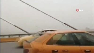 gokyuzu -  - Irak'ın güneyini kum fırtınası vurdu