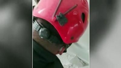 yazili aciklama - KAYSERİ - İtfaiye ekipleri evin duvar boşluğunda 3 metre uzunluğunda yılan yakaladı