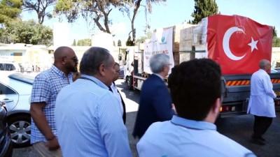yazili aciklama - KUDÜS  - Mirasımız Derneğinden Doğu Kudüs'teki hastaneye ilaç ve tıbbi malzeme yardımı