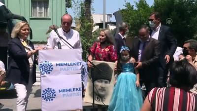 MERSİN - Muharrem İnce, partisinin Mersin İl Başkanlığının açılışına katıldı