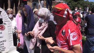 bisiklet turu - ORDU - Kıbrıs Gazisi merhum Şükrü Tandoğan mezarı başında anıldı