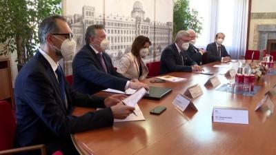 yazili aciklama - PRAG - Türkiye ve Çekya arasında Ortak Ekonomi ve Ticaret Komitesi Kurucu Anlaşması imzalandı