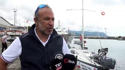 ingiltere - Rekor denemesi için yelkeniyle hiç durmadan dört denizi aşacak