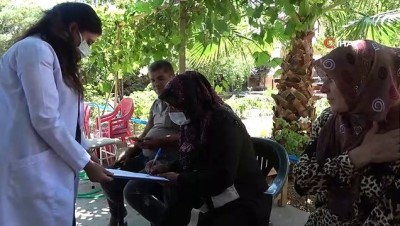 ocaklar -  Sağlık ekiplerinin tarlada aşı serüveni