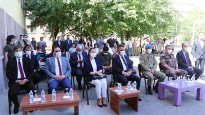 sosyal sorumluluk - SİİRT - Türkiye'nin 81 ilinden sağlanan destekle şehit polis Kurtul adına kütüphane oluşturuldu