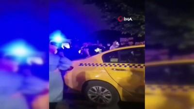 ticari taksi -  Ticari taksi ile 2 motosikletlinin çarpıştığı kaza sonrası can pazarı