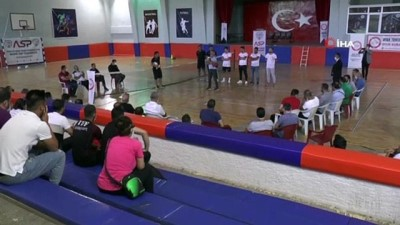 Türkiye Ayak Tenisi Federasyonu eğitim semineri Erzurum'da başladı