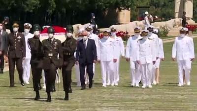 gaziler - ANKARA - Sahil Güvenlik Teşkilatından Anıtkabir'e ziyaret