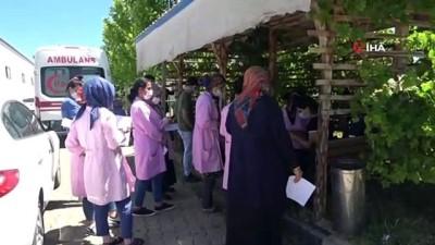 hassasiyet -  Bingöl'de bin kişinin istihdam edildiği OSB'de aşılama çalışması başladı