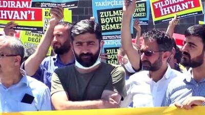 sivil toplum - DİYARBAKIR -Mısır'da darbe karşıtı 12 kişinin idam kararına tepki gösterildi