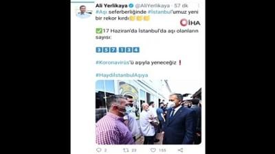 rekor -  İstanbul'da aşı rekoru