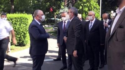 erimli - KAHRAMANMARAŞ - AK Parti Grup Başkanvekili Mahir Ünal, Kahramanmaraş'ta gündemi değerlendirdi
