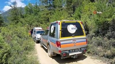 cenaze araci -  Kanyonda kaybolan gencin cesedine 3 gün sonra ulaşıldı