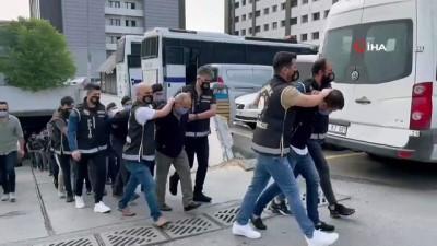 kiz kardes -  'Karagümrük' çetesi üyeleri adliyeye sevk edildi