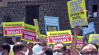 sivil toplum -  Mısır'da İhvan liderlerine yönelik idam kararları Diyarbakır'da protesto edildi