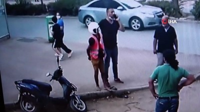 polis araci -  Motosikletin üzerinde neye uğradığını anlamadı, yaka paça yakalanıp tutuklandı